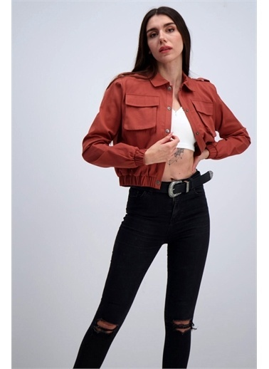 iandb iandb Kadın Mevsimlik Ceket Jagger Renkli